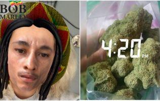 "Snapchat's ""offensive"" 4/20 Bob Marley filter has badly backfired"