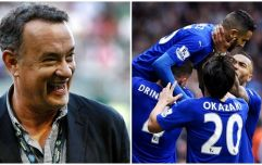 Tom Hanks set for massive windfall after pre-season bet on Leicester City