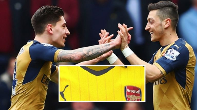 f52e82dae Arsenal's leaked new away kit ticks every gorgeous box | JOE.co.uk