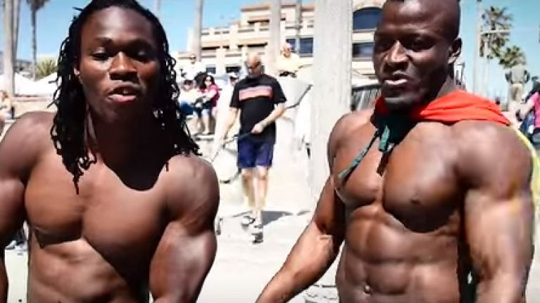 how these two west african guys got ripped with no gym no weights