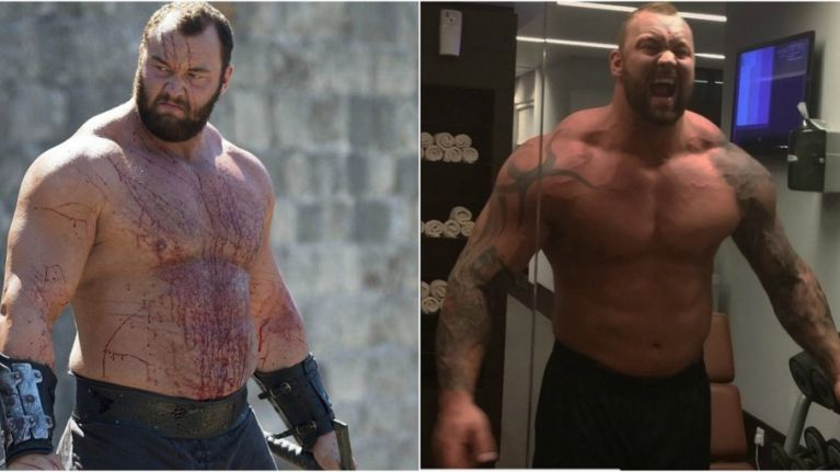 This is the Mountain from Game of Thrones' 10,000 calorie diet for World's  Strongest Man