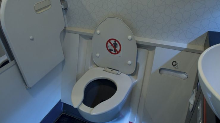 So this is how airplane toilets are actually emptied