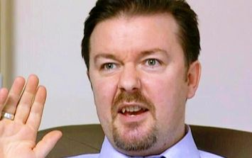 Ricky Gervais shares hilariously bad first ever review of The Office