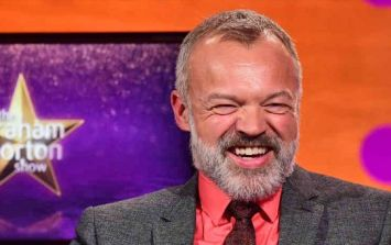 Here's who's popping up on The Graham Norton Show this week