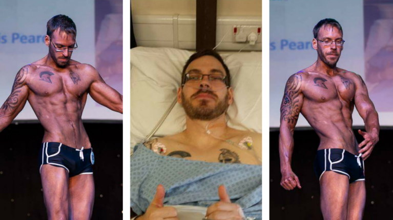 Here's how a 32-year-old lung cancer survivor got shredded in an amazing body transformation