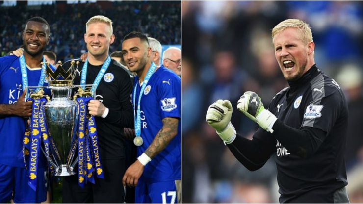 These are the odds on Kasper Schmeichel's son Max winning the Premier League