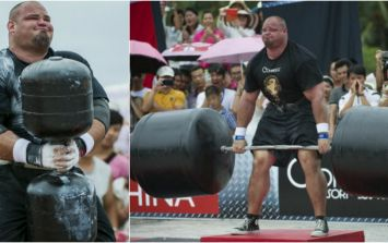 This is the monster diet of World's Strongest Man Brian Shaw