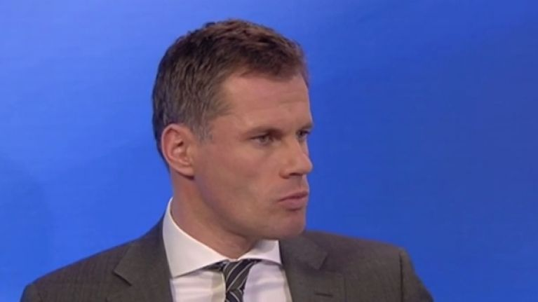 Jamie Carragher is trolling Everton fans after Roberto Martinez was sacked