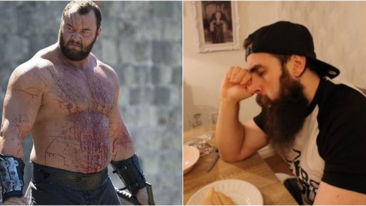 This poor bloke tried The Mountain's massive strongman diet