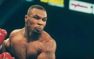 People think time travel has been captured in this footage of Mike Tyson