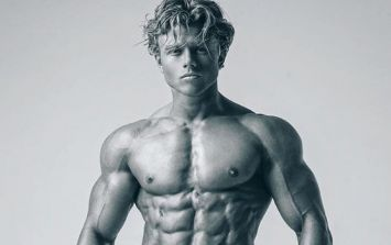Here's how a 21-year-old diabetic student became Britain's top young physique athlete