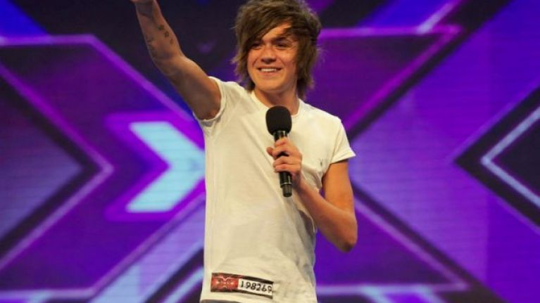 Image result for frankie cocozza x factor