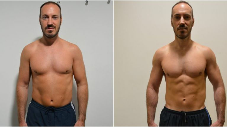 This 43-year-old got ripped in 8 weeks with 'German Body Composition' training