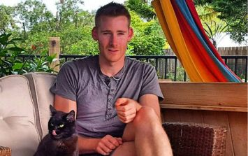 Meet the man that quit his job to go travelling with his cat
