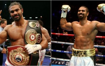 The diet that got David Haye back shredded to chase the heavyweight title is not what you'd expect