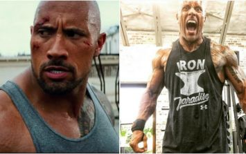 The Rock has packed on some serious muscle for Fast & Furious 8 in just 4 weeks