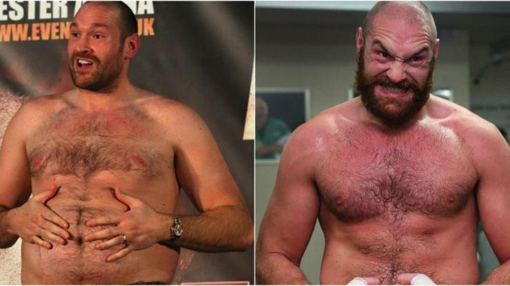 Tyson Fury has made a big diet change to get lean for the Wladimir Klitschko rematch