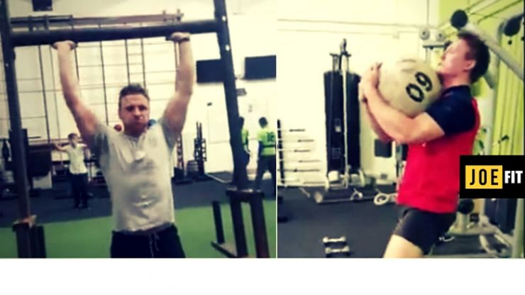 This strongman circuit will get you strong and fit for rugby