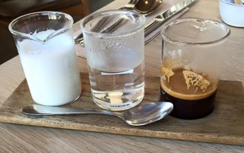 """This is what a """"deconstructed coffee"""" looks like, and people are not impressed"""