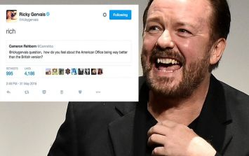 11 times Ricky Gervais had the most wicked responses on Twitter