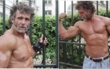 How this homeless bodybuilder's simple street training turned him into a beast