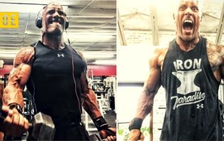 This is how The Rock trains to get huge