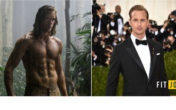 How Alexander Skarsgard got ripped to play Tarzan