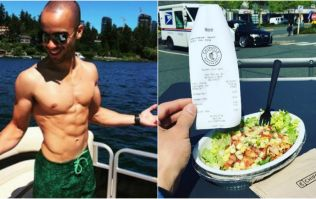 This American guy has got super ripped eating Chipotle every day for nearly a year