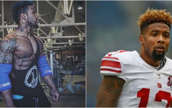 NFL star Odell Beckham Jr's cousin is an absolute beast in the gym