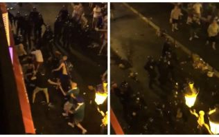More violence as French hooligans attack Polish and Northern Irish fans in Nice