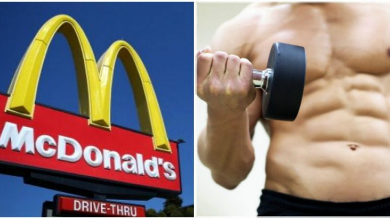 What to eat at McDonald's after a hardcore workout | JOE co uk