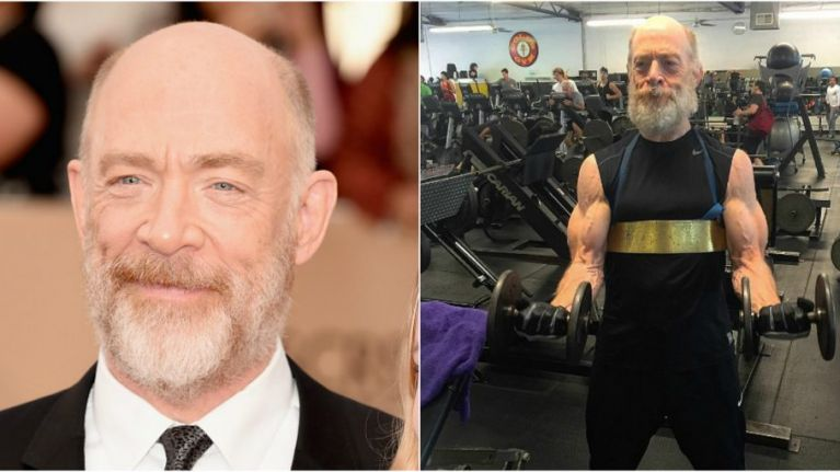 Trainer explains how 61-year-old JK Simmons got so damn ripped
