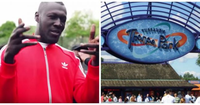 Stormzy's birthday party at Thorpe Park looked amazing