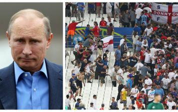 Vladimir Putin has his say on football fan violence in France