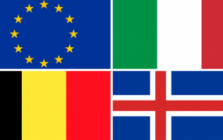 Can you beat your mates in this European flag quiz?