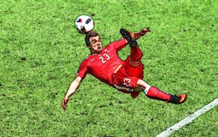 Xherdan Shaqiri surely scored the goal of the tournament to force extra time against Poland