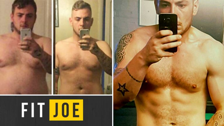 Liverpool mechanic made a 4-stone body transformation with simple diet changes
