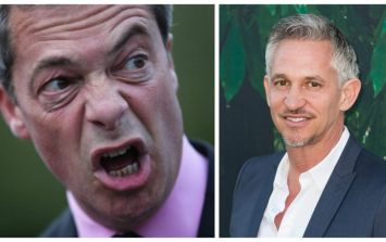 """I was wrong when I called Farage a dick and I apologise..."" - Gary Lineker clarifies his Nigel Farage comments"