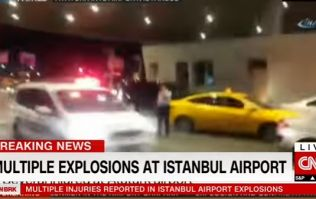 Suicide bombers have killed and injured dozens in a terror attack on Turkey's biggest airport