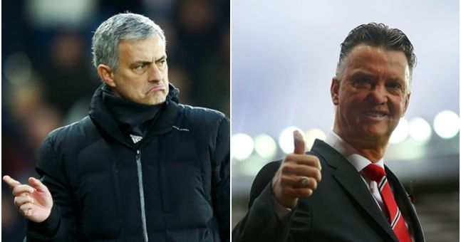 Jose Mourinho Takes A Leaf Out Of Louis Van Gaal's Book