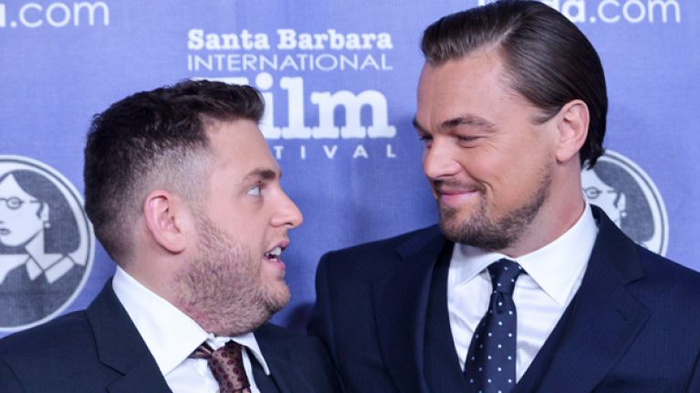 Leo DiCaprio scares the shit out of mate Jonah Hill pretending to be obsessed fan