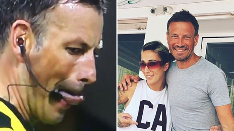 Everyone is taking the piss out of Mark Clattenburg's hilarious tattoo