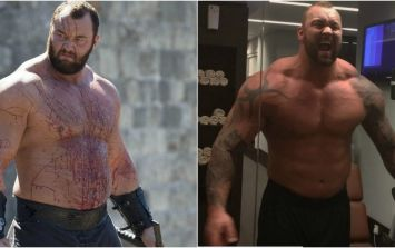 The Mountain looks absolutely massive in his latest movie role