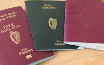 This graph shows staggering rise in Irish passport applications from UK and Northern Ireland since Brexit