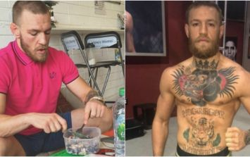 This is the diet that Conor McGregor has packed on lean muscle with for Nate Diaz fight