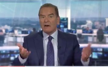 Jeff Stelling takes a very cheeky dig at BT Sport on Soccer Saturday