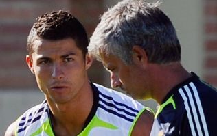 Jose Mourinho was not impressed with Cristiano Ronaldo's dugout behaviour in the Euro 2016 final
