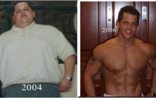 This American doctor lost 14 stone in just 10 months to get in incredible shape