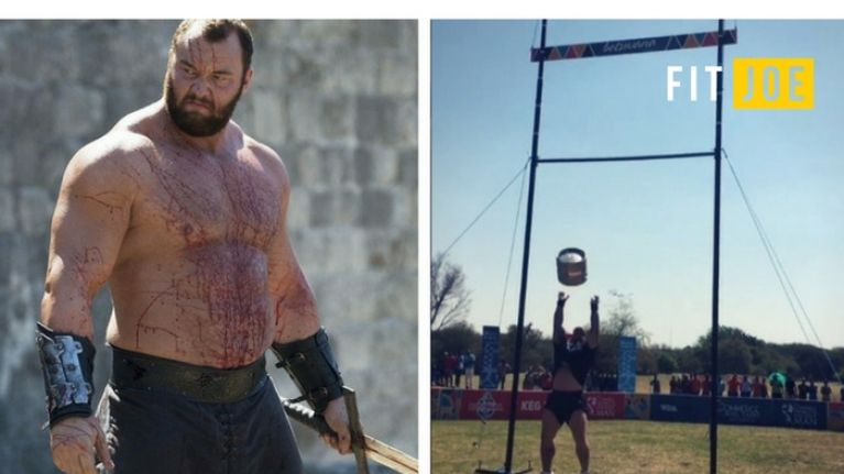 The Mountain smashed the keg toss record at the World's Strongest Man competition