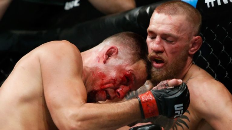 The fight community reacts to Conor McGregor's bloody battle of attrition with Nate Diaz